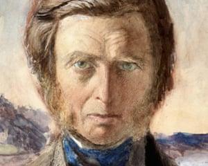 Portrait of John Ruskin, attributed to Charles Fairfax Murray.