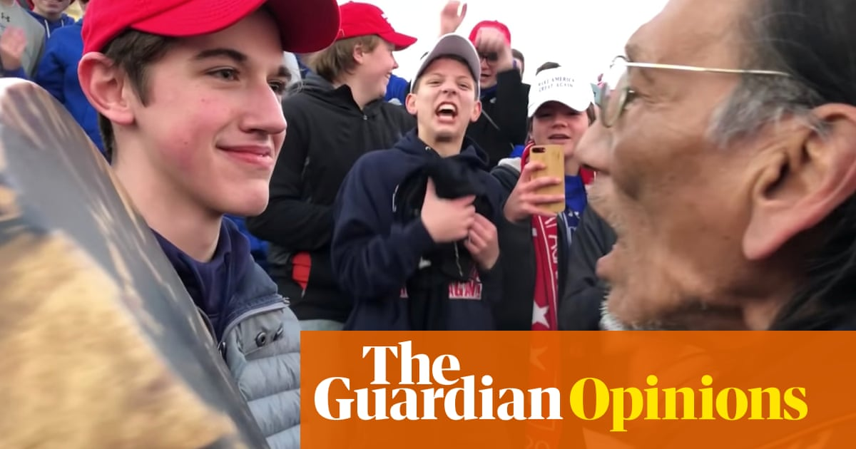 0451658899e How conservative media transformed the Covington Catholic students from  pariahs to heroes