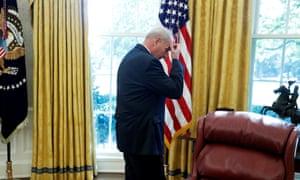 John Kelly in the Oval Office.