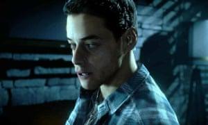 The horror … Rami Malek in Until Dawn