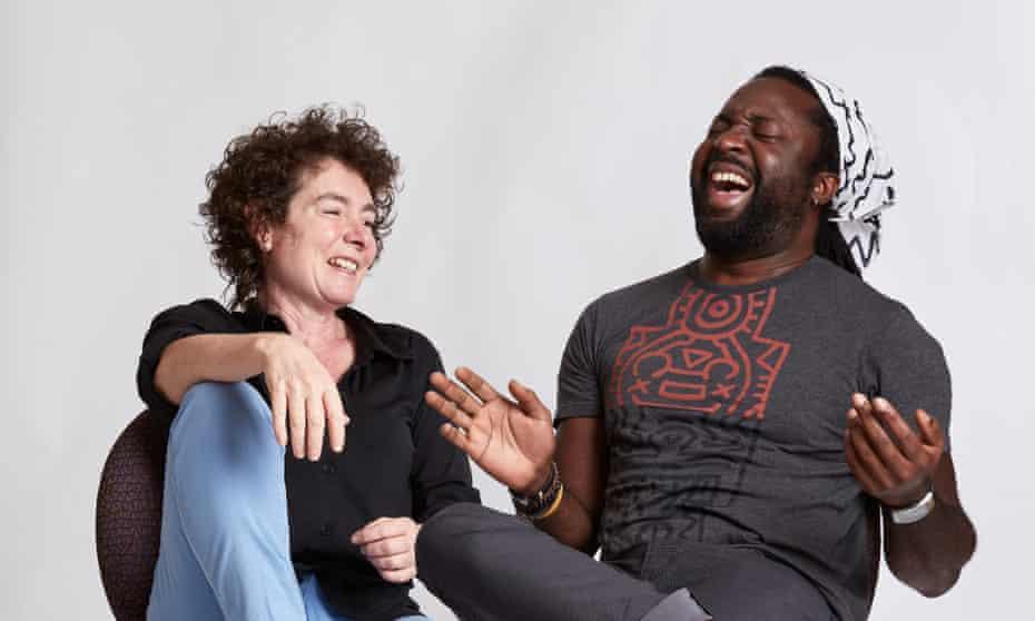 Jeanette Winterson and Marlon James.