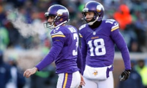 finest selection e5a85 613a8 Blair Walsh misses last-minute chip shot as Vikings blow ...