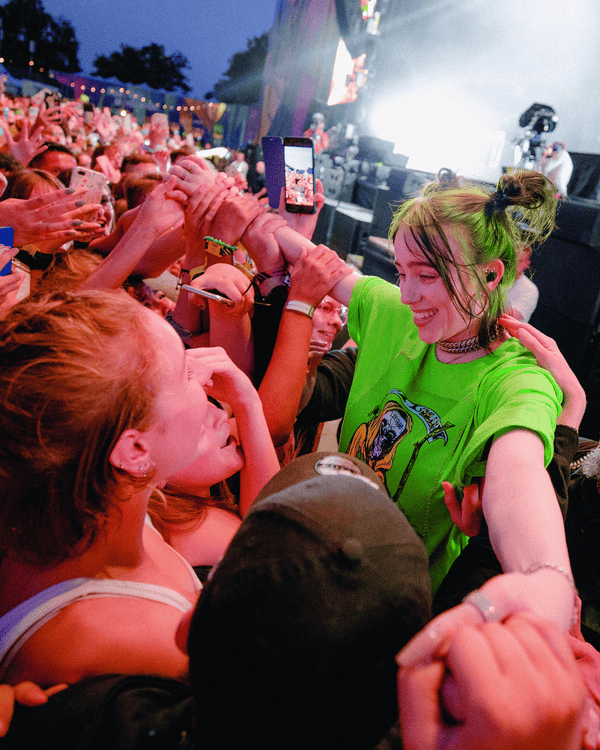 Billie Eilish performing at the Austin City Limits Music Festival in 2019