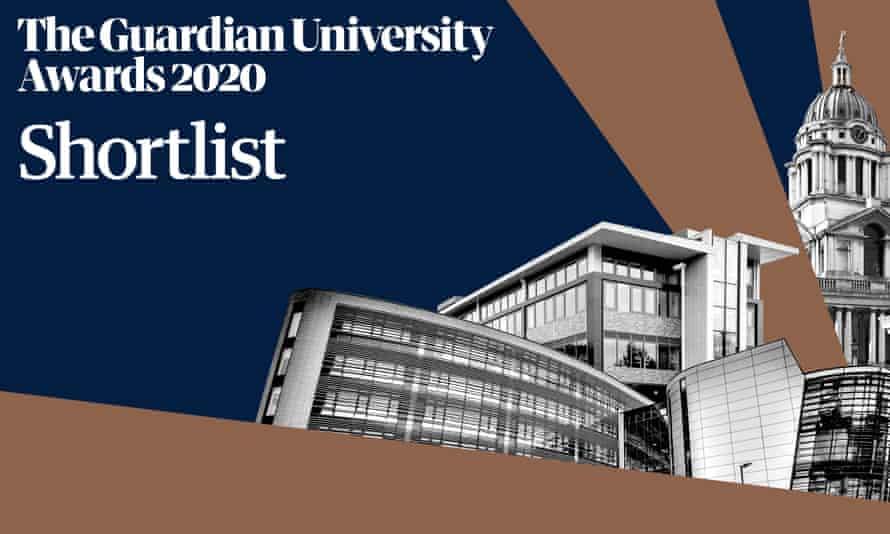 Guardian University Awards 2020 Shortlist