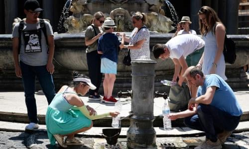 Hell is coming': week-long heatwave begins across Europe | World