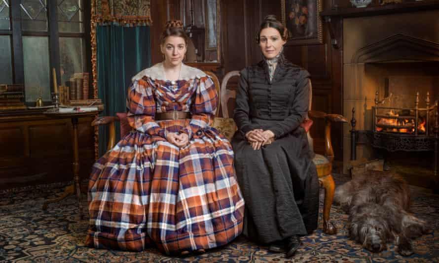 Sister act: Marian Lister (Gemma Whelan) and Anne Lister (Suranne Jones).