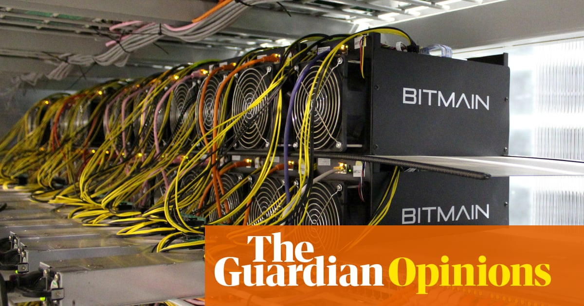 Bitcoin's energy usage is huge – we can't afford to ignore