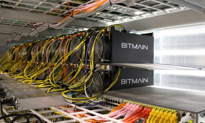 how to use servers to mine cryptocurrency