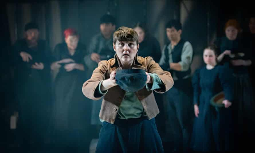 Brooklyn Melvin in the title role of Oliver Twist.