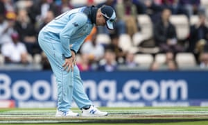 Jason Roy was forced from the field with a hamstring injury against West Indies.