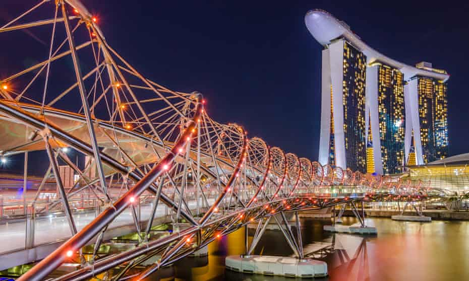 Helix Bridge, Singapore.