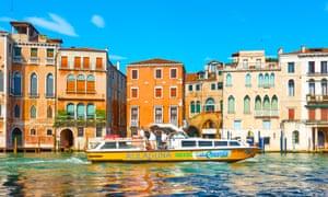 Xe buýt nước Alilaguna Venice