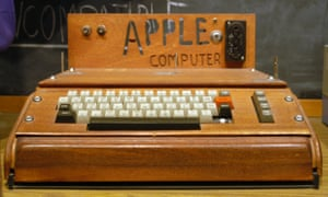Apple I - the first product - 1976The original Apple Computer, also known as the Apple I, is the product that kicked everything off in 1976. It was designed and hand-built by Apple co-founder Steve Wozniak using funds from the sale of his HP-65 calculator and his friend Steve Jobs' VW van.The Apple I went on sale in July 1976 priced at $666.66 selling around 175 units in 10 months, discontinued in October 1977, following the introduction of its successor the Apple II in April that year.