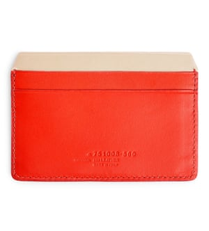 Leather cardholder, £25, Arket