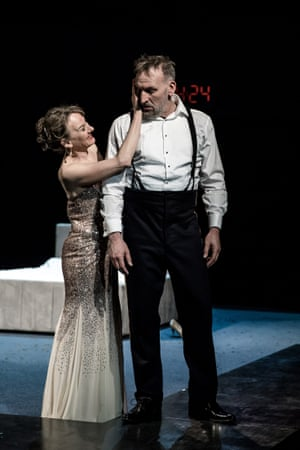 Niamh Cusack and Christopher Eccleston in Macbeth at the RSC.