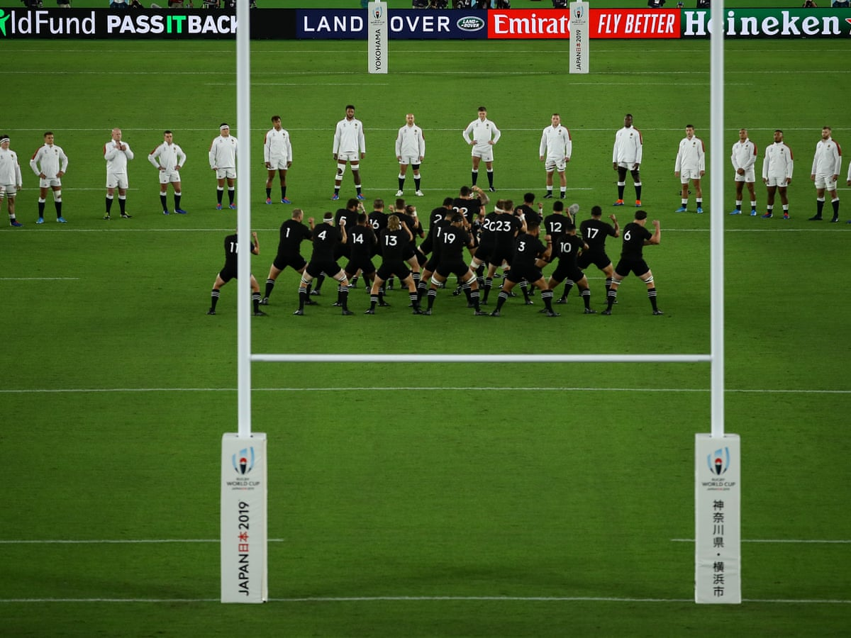 England Fined For V Shaped Formation Facing New Zealand S Haka Sport The Guardian