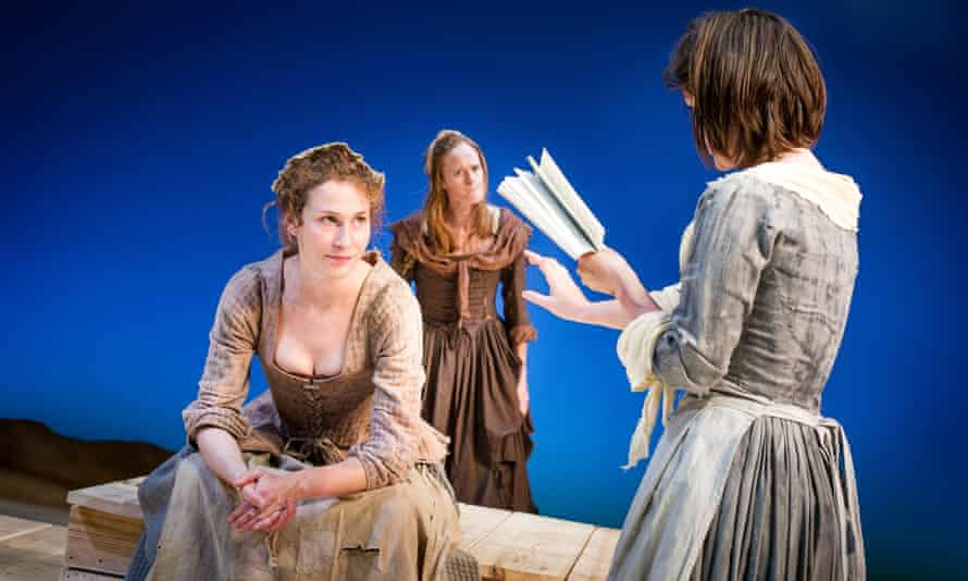 A scene from Timberlake Wertenbaker's Our Country's Good, directed by Max Stafford-Clark for Out of Joint in 2012.