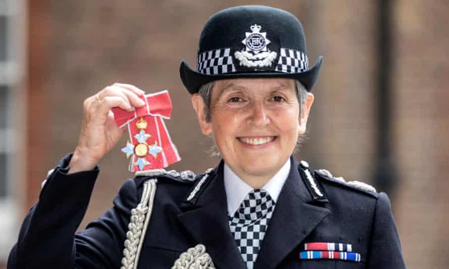 The Metropolitan police commissioner, Cressida Dick