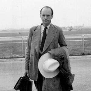 Queen Elizabeth's private secretary Martin Charteris.