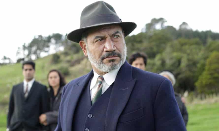 The boss ... Temuera Morrison in Mahana