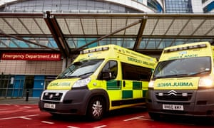 A total of 21,663 patients in England have been forced to wait for at least an hour with ambulance crews outside A&Es since winter began.