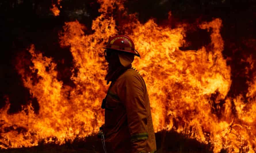 Sydney firefighters, 2019