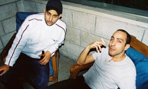 'You don't have to be occupied to make a hit song' … Shabjdeed and Al Nather.