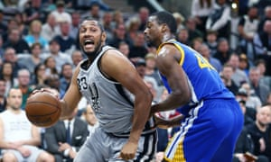 San Antonio Spurs' Boris Diaw made an effective surprise start against Harrison Barnes and the Golden State Warriors on Saturday night.