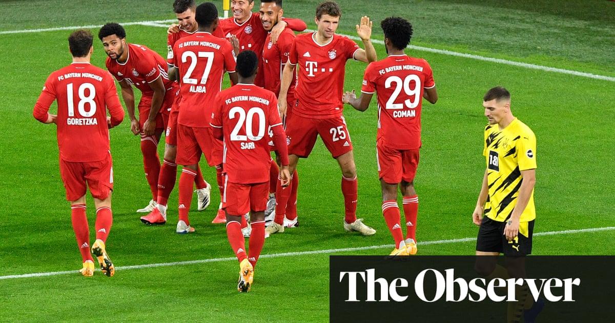 Sané and Lewandowski seal Klassiker victory for Bayern over Dortmund