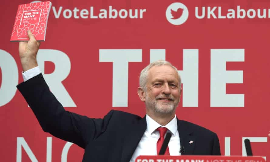 Labour manifesto jeremy corbyn