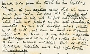 A detail from Charles Dickens' handwritten manuscript of Nicholas Nickleby, published as a serial from 1838-39.