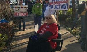 Patricia Mott: 'I just need to take care of my kids, I need to take care of my teachers.'