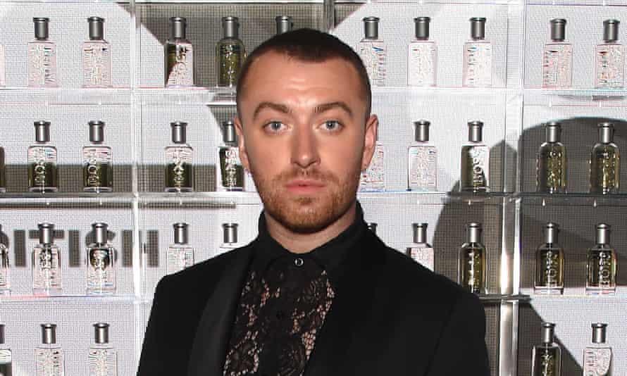 Sam Smith at a GQ awards ceremony on 3 September.