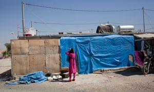 Baharka refugee camp on the plains of northern Iraq