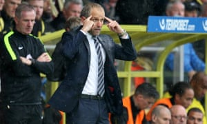 Paul Trollope pictured during his team's 2-0 defeat at Burton Albion on Saturday.
