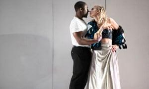 'Extraordinary': Eric Kofi Abrefa and Vanessa Kirby in Julie
