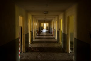 Willow Court asylum in New Norfolk, Tasmania, where Mike Parr staged Entry By Mirror Only and Asylum