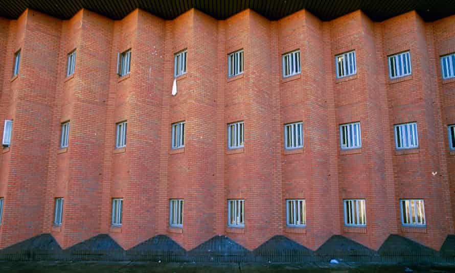 Woodhill prison in Milton Keynes, home to one of England's close supervision centres.