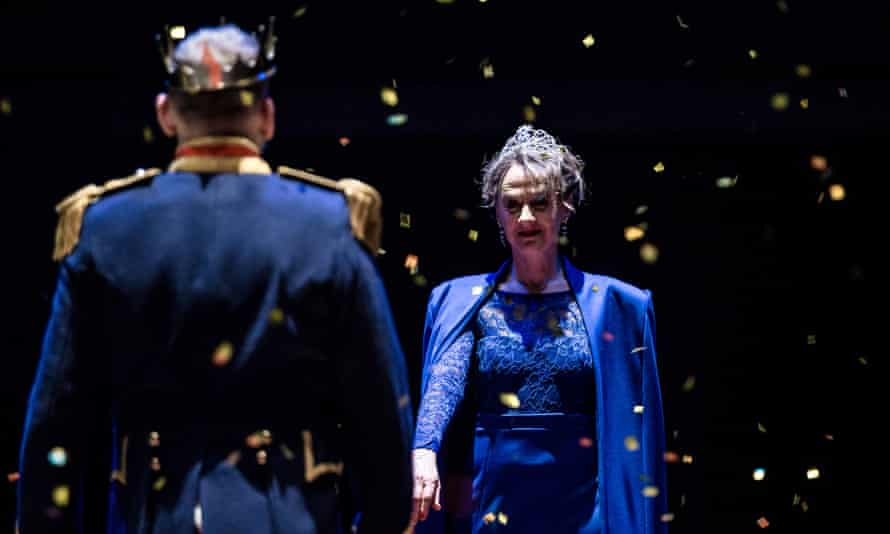 Eccleston and Niamh Cusack in Macbeth at Royal Shakespeare theatre.