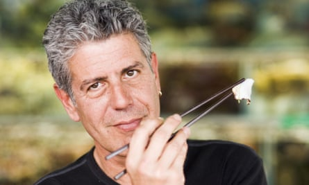 Anthony Bourdain, pictured in 2005