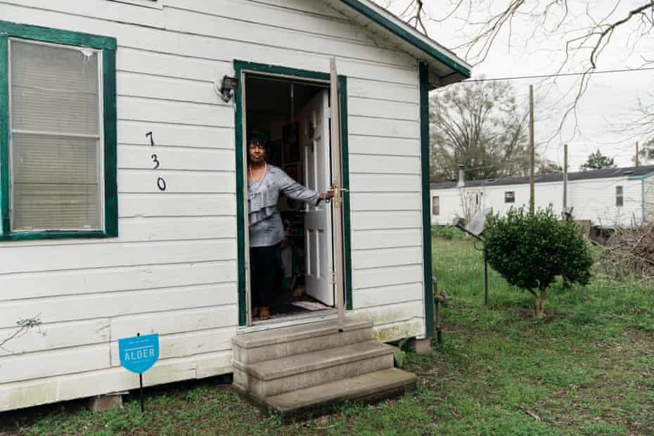 Vivian Majors at her home in Opelousas, Louisiana on February 20, 2019.