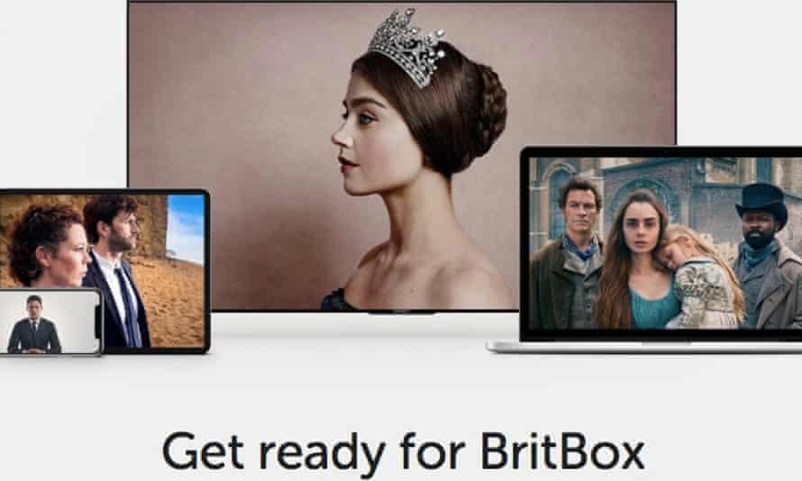 BritBox homepage