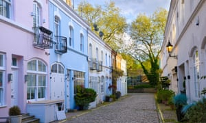 Mews in Knightsbridge, south-west London