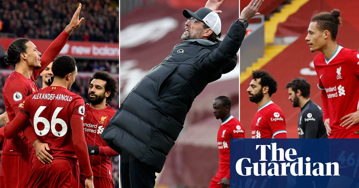 Liverpool's slump: a story of burnt-out brilliance and the need to go again