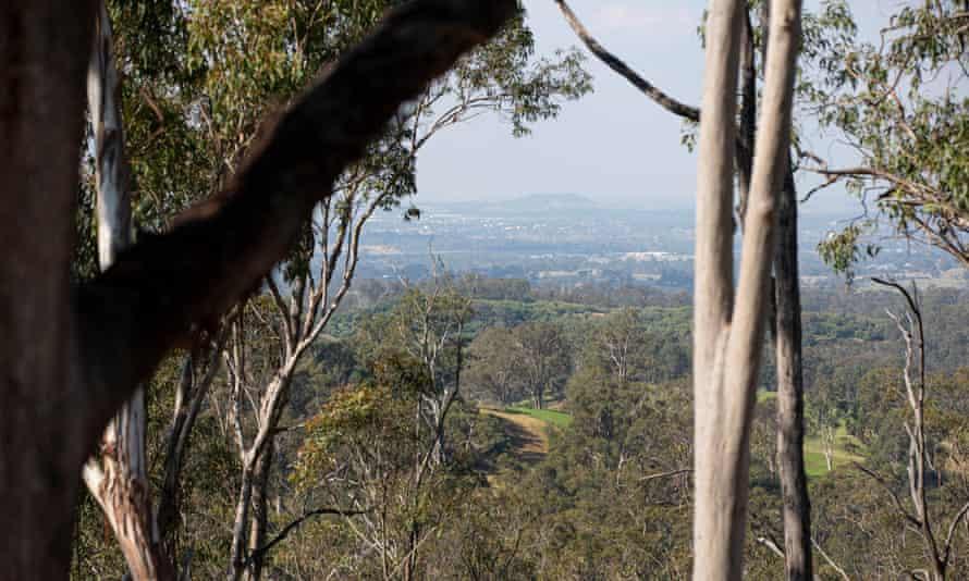 View towards Hardwicke property