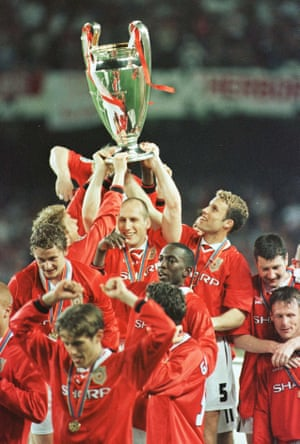 Manchester United v Bayern Munich 1999 European Cup Final