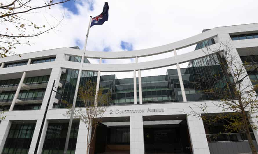 The Department of Home Affairs in Canberra