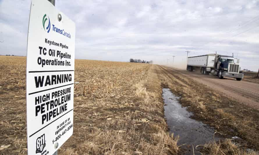 A judge has revoked a key permit for the controversial Keystone XL tar sands pipeline, in a victory to tribes and environmentalists.