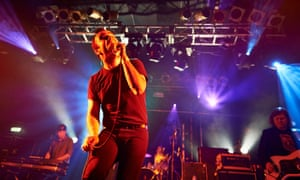 Future Islands at London's Electric Ballroom in 2014.