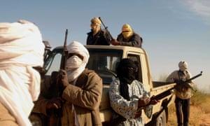 Al Qaeda in Islamic Maghreb insurgents in Mali